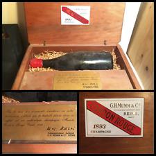 CHAMPAGNE MUMM CORDON ROUGE 1893 EN COFFRET