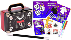 Pre Filled Magic Wizard Party Box - Magical Greatest Showman Parties Bags Boxes