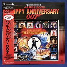 James Bond Happy Anniversary Japan LD Laserdisc NJL-35041 Roger Moore 007 1987
