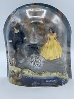 Disney Beauty And The Beast Hasbro Enchanted Rose Scene FigureSet SHIPPED IN BOX