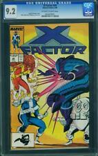 X-Factor #40 ((Marvel, 5/89) CGC 9.2 NM- (Origin of Nanny & Orphan Maker)