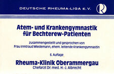 Respiratory Physiotherapy for Spondylitis patients Gymnastics-Cassette