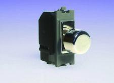 Varilight 2-Way Push-ON/OFF Rotante Dimmer Interruttore della luce 60-400 W (1) SPAZIO Griglia CH
