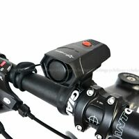 ROCKBROS Bike Horns Riding Handlebar Ring Bell Cycling Horn Black 5 Modes Voice