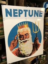 Neptune Oil King Repro Alucabond Sign