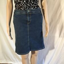 United Colors of Benetton Womens Size 46 Denim Skirt US Size 10