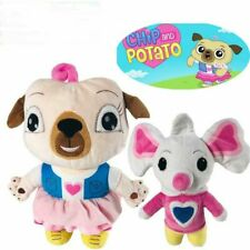 New listing Cute Chip And Potato Toy Pug And Mouse Animal Plush Stuffed Chidlren Best Gift