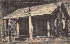 Allenstown New Hampshire Bear Hill Pond Camp Campers Cabin Postcard K63656