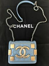 Chanel Lego Le Boy Brick Mini Flap cross body chain bag, new, originally $3900
