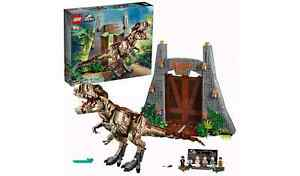 LEGO Jurassic Park 75936 T rex Rampage - 75936 Brand New & Sealed - Retired S3