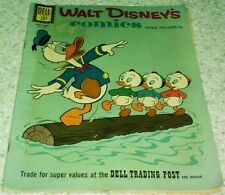 Walt Disney's Comics and Stories 254, Fn+ (6.5) 1961 Jet Witch! 50% off Guide!
