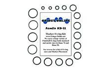 Azodin KD-II Paintball Marker O-ring Oring Kit x 4 rebuilds / kits