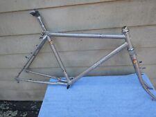 "18"" Vintage Specialized Stumpjumper Mountain Bike Frameset Lugged Bi-Plane Fork"