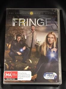 Fringe : Season 2 (2009 : 6 Disc DVD Set) Very Good Condition Region 4