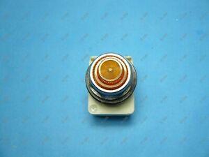 Square D 9001KP38LYA31 Pilot Light 30 MM Amber LED 120 VAC/DC NNB