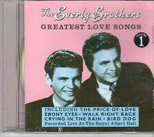 (DV992) The Everly Brothers, Greatest Love Songs Vol 1 - Live - 1997 CD