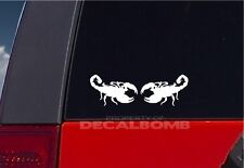 """2 SCORPION decals stickers vinyl graphic diesel rzr turbo bug insect 4.5"""" x 3"""""""