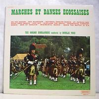 """33T MARCHES DANSES ECOSSAISES Vinyl LP 12"""" The GORDON HIGHLANDERS -MUSIDISC 1078"""