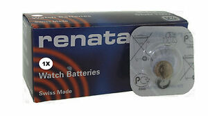 Renata 377 SR626SW 1.55v Ossido D'Argento Batteria Orologio - Confezione Di 100