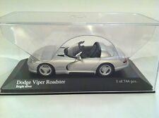 Minichamps 430 1444034 Dodge Viper Roadster 1993 1 744 pcs nouveau emballé