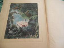 J.-H. FRAGONARD PIERRE DE NOLHAC édition originale  GOUPIL & CIE 1906