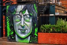 John Lennon Mural Street Art Graffiti Camden Town London Photograph Print
