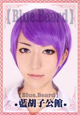 Tokyo Ghoul Shuu Tsukiyama Anime Costume Cosplay Wig +Free Wig CAP