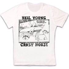 Neil Young Crazy Horse Zuma Folk Rock Retro Vintage Hipster Unisex T Shirt 2216