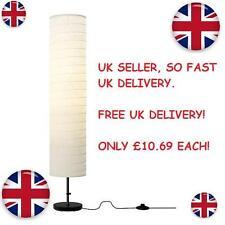 Ikea HOLMO lampadaire papier de riz ombre douce humeur lumière nouvelle livraison gratuite au royaume-uni!!!