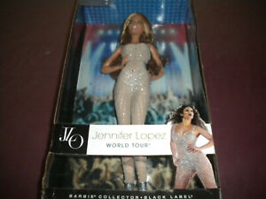 Jennifer Lopez World Tour JLO Black Label Barbie Collector Mattel Y3357