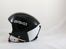 BRIKO VULCANO SPEED JR Ski snowboard Helmet XS Black 52cm - NEW