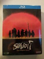 Akira Kurosawas Samurai 7 The Complete Series (Blu-ray, 2009, 3-Disc Set) Anime
