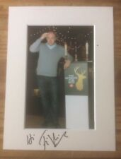 More details for a 20 cm x 15 cm mount with photo signed by comedian tim vine. (2).