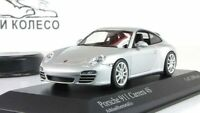 Scale Car 1:43, PORSCHE 911 CARRERA 4S, SILVER METALLIC 2008