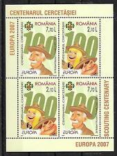 CEPT 2007/Romania MiNr Block 396 II **