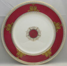 Wedgwood Columbia Powder Ruby (Rim and Center) Dinner Plate