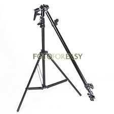 PRO Photo Studio Reflector Holder Bracket Arm Support &Swivel Head & Light Stand
