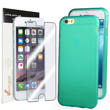 Apple iPhone 6 4.7inch Combo, Matte Back Soft TPU Case&Clear JAPANESE Film Cover