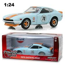 "GREENLIGHT 18302 1970 DATSUN 240Z #70 ""GULF OIL"" DIECAST MODEL CAR 1:24"