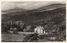 Postcard - Aberfeldy - Moness House Hotel and the Peak of Schiehallion