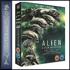 Alien 1- 6 Film Collection *Brand New Blu-Ray Boxset *