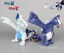 2X Pokemon Center Mega Shadow Lugia & Lugia Soft Plush Doll Stuffed Toy 11''