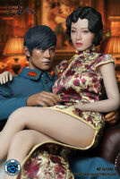 Super Duck SET046 1:6 Shanghai Female Singer Head Clothes F 12'' Phicen Figure