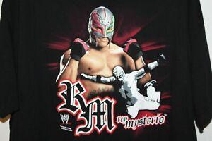 REY MYSTERIO 3XL T-SHIRT WWE RETRO 2007 NEW !