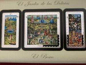 2016 Spain 25 & 50 Euro 500th Ann. H Bosch Garden Of Earthly Delights *Rare Set!