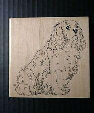 Stamp Cabana Rubber Stamp King Charles Spaniel Dog Animal Pet
