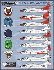 1/48 Furball Air Wing All Stars: Cougar Trainer CAGs for the Kittyhawk kit