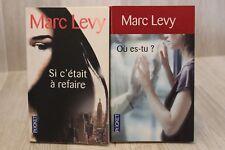 Marc Levy - Lot de 2 poches - Livre - Occasion