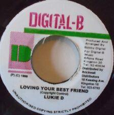 """LUKIE B - Loving Your Best Friend ~ 7"""" Single JA PRESS"""