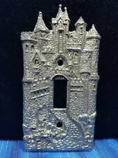 Castle Single Toggle Light Switch Plate Cover Knight Fellowship Foundry US Made